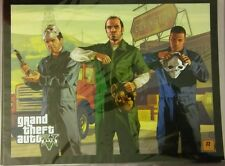Grand Theft Auto V - Limited Edition Lithograph GTA5