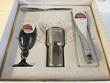 Stella Artois Beer Draught Kit Tap Handle 40cl Glass 16 SS Tumbler Skimer NEW FS