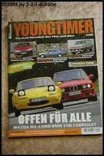 YOUNGTIMER 3/08 DeLorean DMC-12 Mazda MX-5 BMW 318i