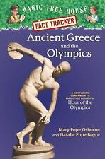 Magic Tree House Fact Tracker #10: Ancient Greece and the Olympics: A -ExLibrary