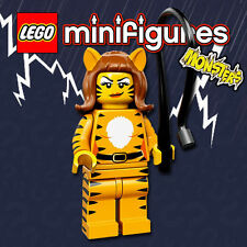 LEGO Minifigures #71010 - Halloween / Monsters - Tiger Woman / Femme Tigre - NEW