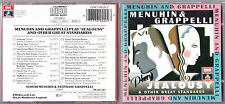 CD 17T YEHUDI MENUHIN & STÉPHANE GRAPPELLI JEALOUSY & OTHER GREAT STANDARDS 88