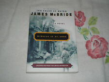MIRACLE AT ST. ANNA by JAMES McBRIDE    *SIGNED*   -ARC-  -JA-