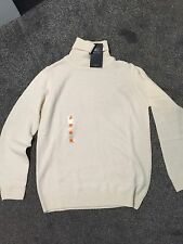 M&S Lambs Wool Winter White Colour Jumper BNWT Size 10