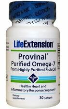 Life Extension PROVINAL® Purified Omega-7  30 softgels
