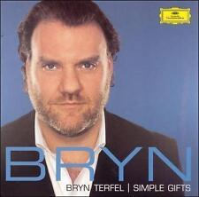 BRYN TERFEL Simple Gifts 2005 Deutsche Grammophon BARITONE OPERA CD