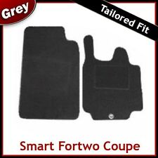 SMART FORTWO Coupe (57) 2007 2008 2009 2010...2012 Tailored Carpet Car Mats GREY