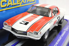 SCALEXTRIC C3431 70' CHEVROLET CAMARO TONY DeLORENZO NEW 1/32 SLOT CAR DPR