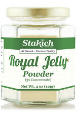 4oz PURE ROYAL JELLY POWDER LYOPHILIZED HIGH 10HDA% NEW GLUTEN FREE