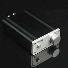 HiFi high quality WA205 TK2050 Class T Power amplifier(mini Desktop power amp )
