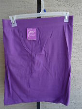 NWT  WOMENS JUST MY SIZE RELAXED FIT STRETCH WAIST POCKET SHORTS VIOLET 5X