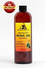 OLIVE OIL EXTRA VIRGIN ORGANIC CARRIER PREMIUM COLD PRESSED PURE 16 OZ