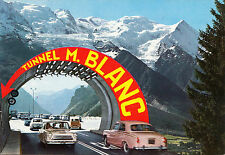 BF14924 tunnel m blanc car  france front/back image