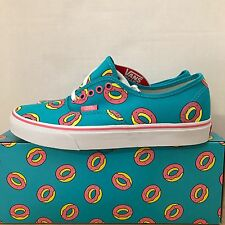 VANS AUTHENTIC OF DONUT SCUBA BLUE SIZE 12 NEW WITH BOX ODD FUTURE