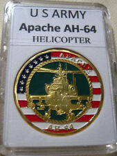 US ARMY APACHE AH-64 Helicopter Commemorative Challenge Coin