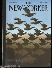 "The New Yorker Magazine July 5, 2010 ""After Escher: Gulf Sky and Water"" by Bob S"