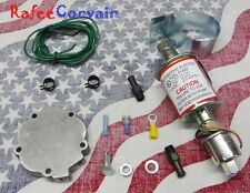 1960-69 Chevrolet CORVAIR ELECTRIC FUEL Pump KIT with bypass plate,  SALE!