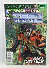DC Comics Teen Titans Death of the Family Issue #16 Comic Book Red Robin
