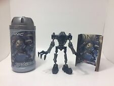 Lego Bionicle Toa Mata Onua (8532) with Canister and Instruction Booklet