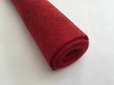 Heathered Wool Blend Felt Fabric - High Quality (22cm x 22cm) Choice of colours