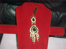 New RED GREEN Kundan BREATHTAKING Judo JOODA Waist Ornament BOLLYWOOD Jewelry 1