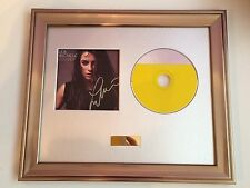 PERSONALLY SIGNED/AUTOGRAPHED LEA MICHELE - LOUDER CD FRAMED PRESENTATION. GLEE