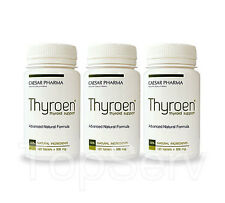 3 THYROEN Support Healthy Thyroid Function Energy Metabolism Best Supplement !!!