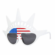 Novelty USA Flag United States of America Statue of Liberty Fancy Dress Glasses