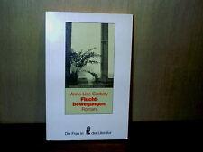 Anne-Lise Grobety Fluchtbewegungen Paperback Book Die Frau in der Literatur
