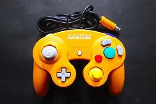 GAMECUBE CONTROLLER Orange DOL-003 Nintendo Gamecube Very.Good.Condition JAPAN