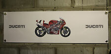 ducati 851 888   large pvc  garage work shop banner man cave show banner