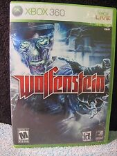 Wolfenstein (Microsoft Xbox 360, 2009), cleaned and tested!