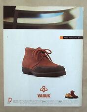 D508-Advertising Pubblicità-1997 - VARUK THE ORIGINAL RUBBER TOE-CUP SHOES