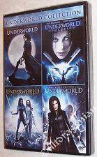 UNDERWORLD Collection 1, 2, 3 & 4 - DVD 4-Movie Set BRAND NEW
