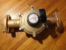 "Badger Meter 2"" RCDL 120 Recordall Model 120 33626-012 in Cubic Feet"