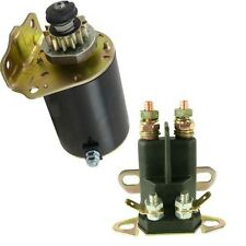 NEW STARTER/SOLENOID KIT FOR BRIGGS & STRATON AIR COOLED 7-18 HP ENGINE
