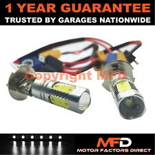 2X CANBUS WHITE H3 CREE LED FOG LIGHT BULBS FOR VAUXHALL ASTRA VECTRA ZAFIRA
