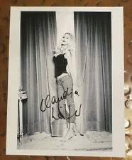 Claudia Schiffer GUESS jeans supermodel signed autographed photo Vogue Cosmo