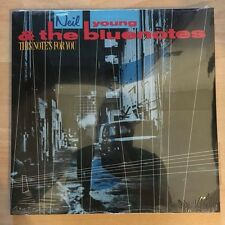 "NEIL YOUNG & THE BLUENOTES ""THIS NOTE'S FOR YOU"" RARE LP GERMANY - SEALED"