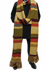 Doctor Who Scarf Season 16 Official BBC Tom Baker Fourth Doctor Scarves -Lovarzi