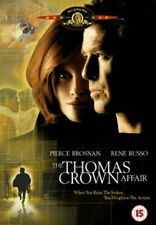 THE THOMAS CROWN DVD Pierce Brosnan Rene Russo Brand New Sealed UK Release
