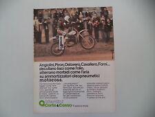 advertising Pubblicità 1977 GILARDINI CORTE E COSSO e MOTO BETA CROSS