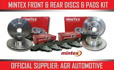 MINTEX FRONT + REAR DISCS AND PADS FOR LANCIA DEDRA 1.8 1989-94 OPT2