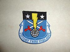 MILITARY PATCH VICTORY THRU VIGILANCE OLDER GERMAN MADE