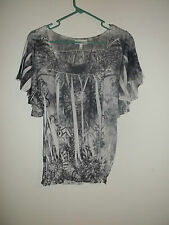 Fashion Bug Tunic Top Size S Small Women - Polyester
