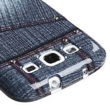 Black Jeans w/Stud Snap-On Hard Case Cover Accessory for Samsung Galaxy S3