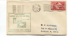 FFC 1953 First Flight AM 82 Texarcana Texax Memphis Tennessee USA - Akron Ohio