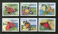 Alderney 440-445a, MNH, Tiger Moths Nature Butterflies Insects 2012. x23879