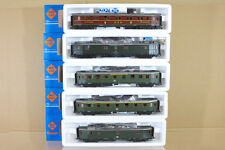 ROCO 4290S 4291S 4292S 4293 4220S RAKE of 5 DB EXPRESS 1st 2nd POST COACH ng