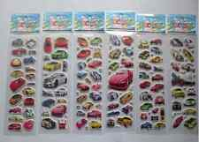 New 3D Children Stereoscopic Sports car Stickers-Lot Of 6 pcs Kids Favorite gift